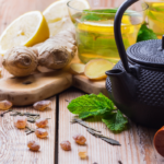 Recipe for Spring: Ginger Lemon Tea with Mint